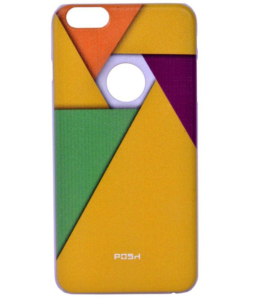 Posh Back Cover For Apple Iphone 6 - Multicolour