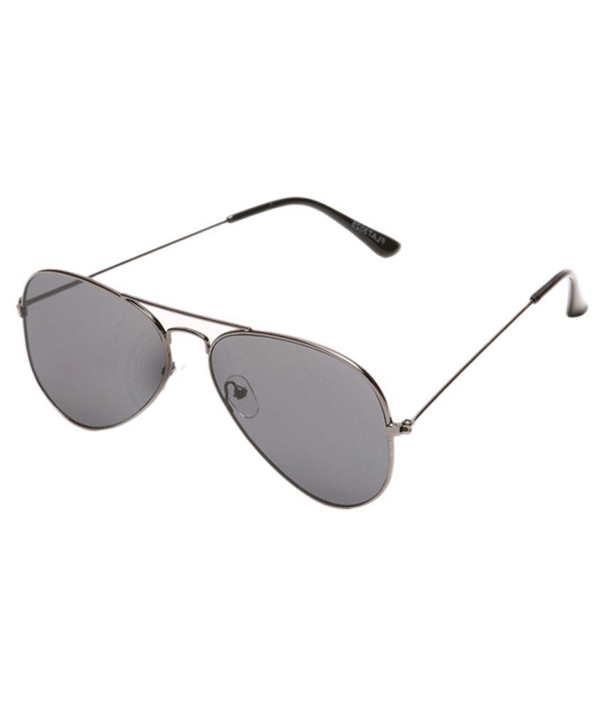 4aa0321cef9 Stylen Black Lense Flat Aviator Style Sunglasses Goggles - Buy Stylen Black  Lense Flat Aviator Style Sunglasses Goggles Online at Low Price - Snapdeal