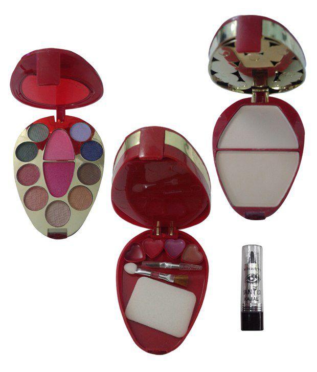 Ads Makeup Kit 9 Eyeshadow + 1 Powder + 2 Blusher + 4 Lip Color With Free: Buy Ads Makeup Kit 9 Eyeshadow + 1 Powder + 2 Blusher + 4 Lip Color With Free at Best Prices in India - Snapdeal Ads Makeup Kit 9 Eyeshadow + 1 Powder + 2 Blusher + 4 Lip Color With Free - 웹
