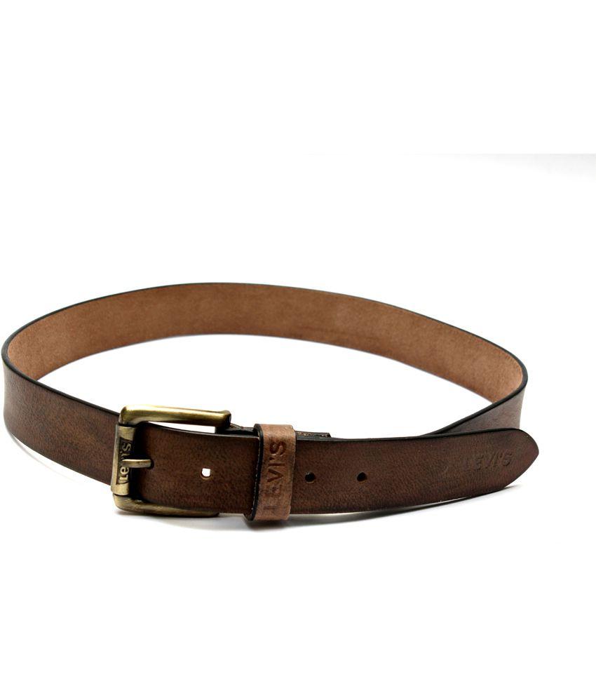 Krazoo Brown Casual Belt For Men