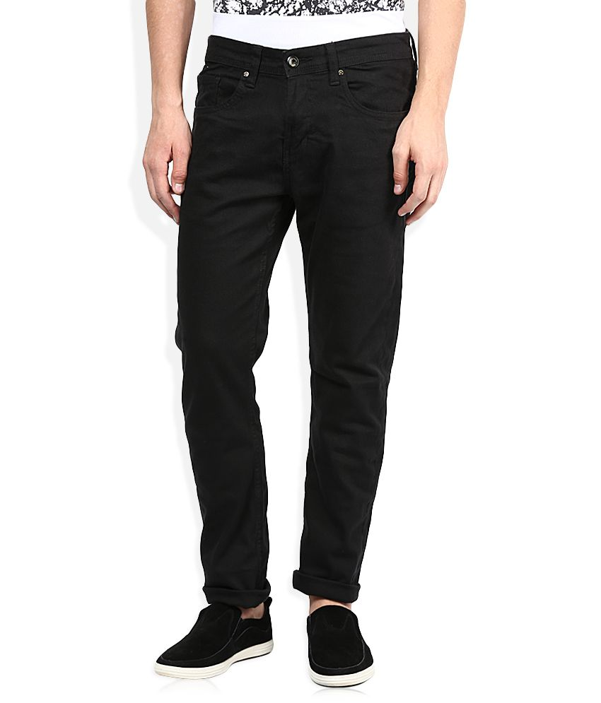 Being Human Black Slim Fit Jeans