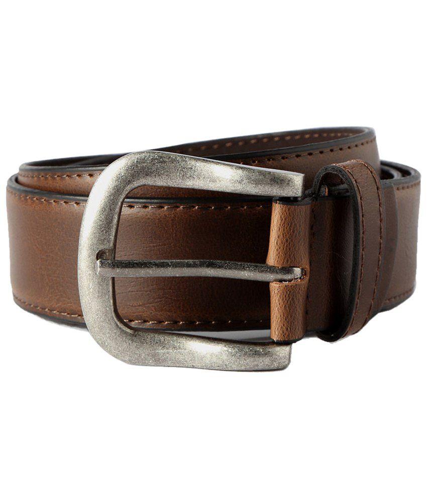 Peter England Dark Brown Formal Belt