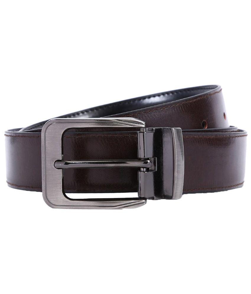 Bluth Brown Formal Belt for Men