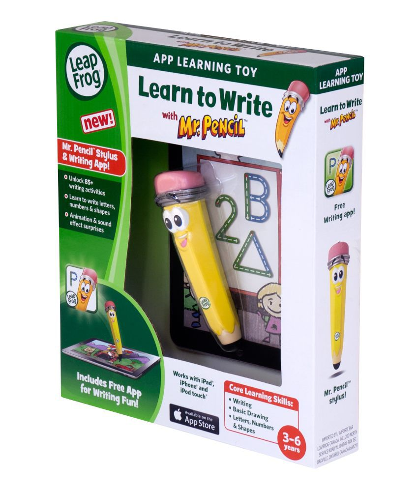 Leap Frog Mr Pencil Learn To Write Stylus and App
