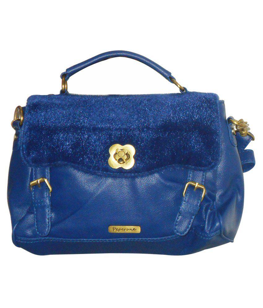 Peperone Blue Sling Bag