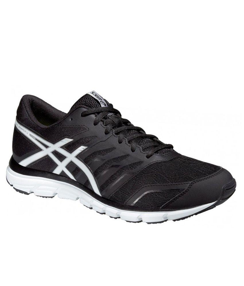 Asics Gel Zaraca 4 Black Sports Shoes
