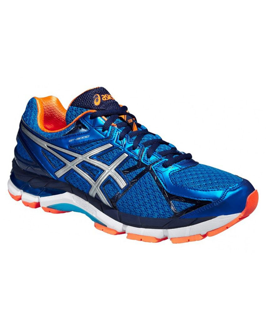 Asics Gt 3000 3 Blue Sports Shoes