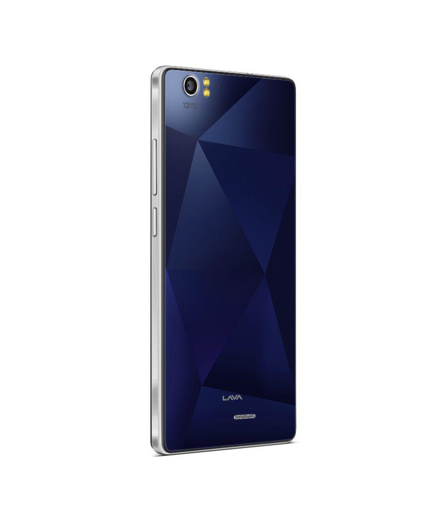 Lava ( 16GB , 2 GB ) Blue