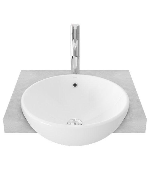 Buy Toto Ceramic White Wash Basins Online at Low Price in India ...