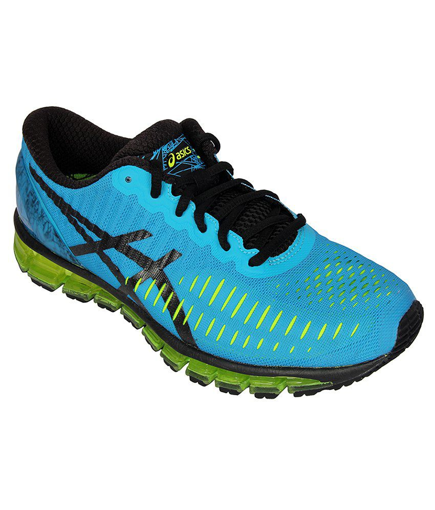 huge selection of cdf17 dbd7d Asics Gel Quantum 360 Turquoise Sports Shoes - Buy Asics Gel ...