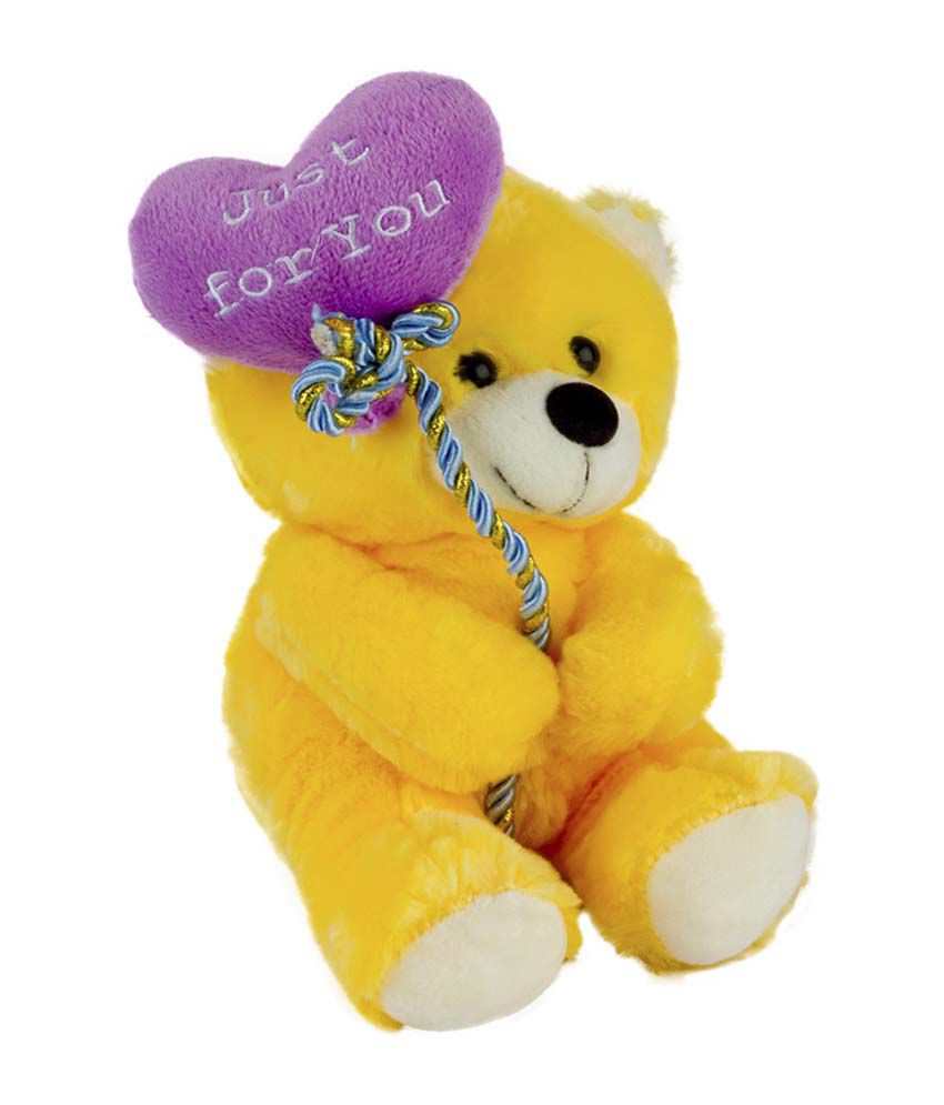Dhoom Soft Toys Dhoom Soft Toys Yellow Teddies