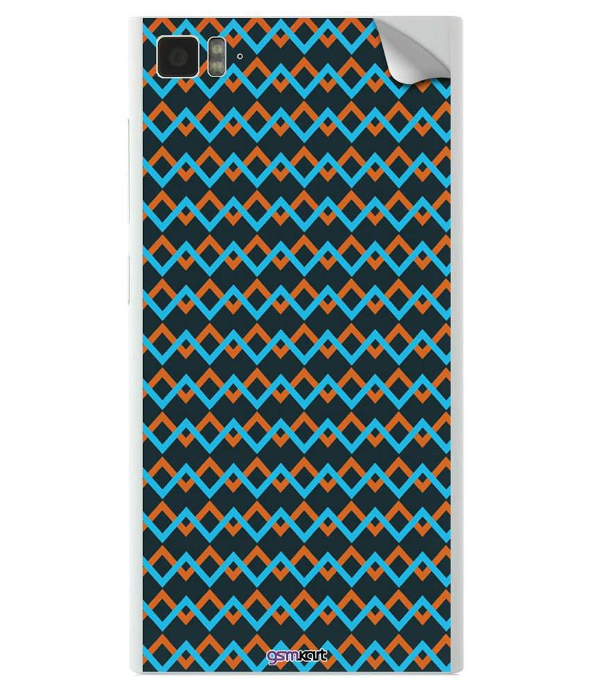 Gsmkart Mobile Skin Sticker For Xiaomi Mi3 - Multicolor