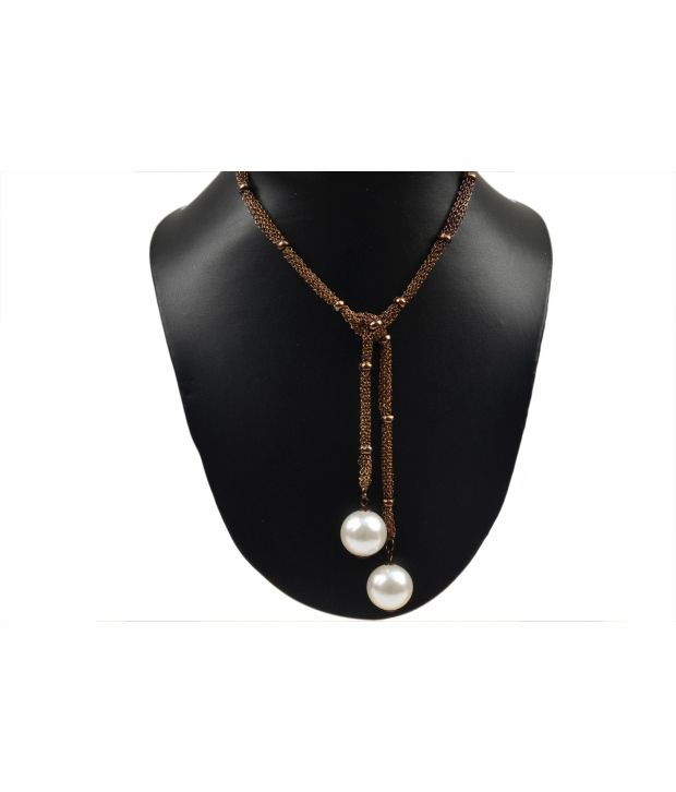 Shamoda Brown Designer Necklace