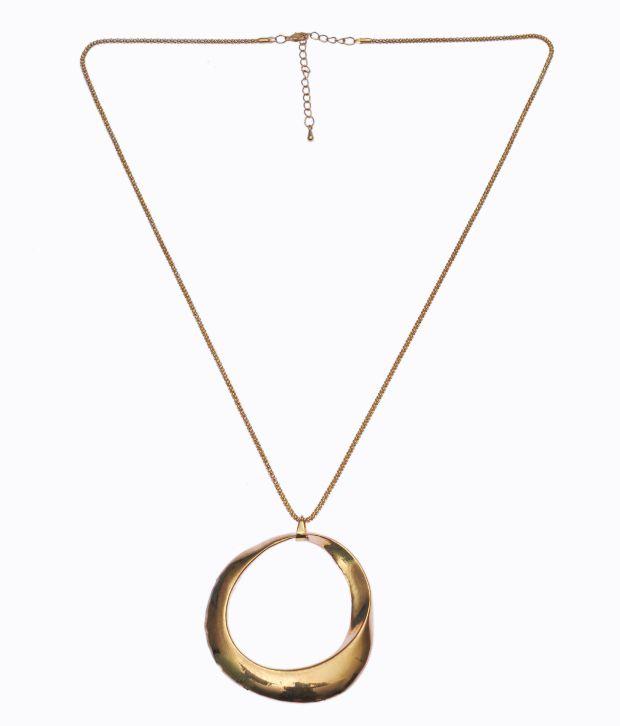 Shamoda Golden Designer Necklace