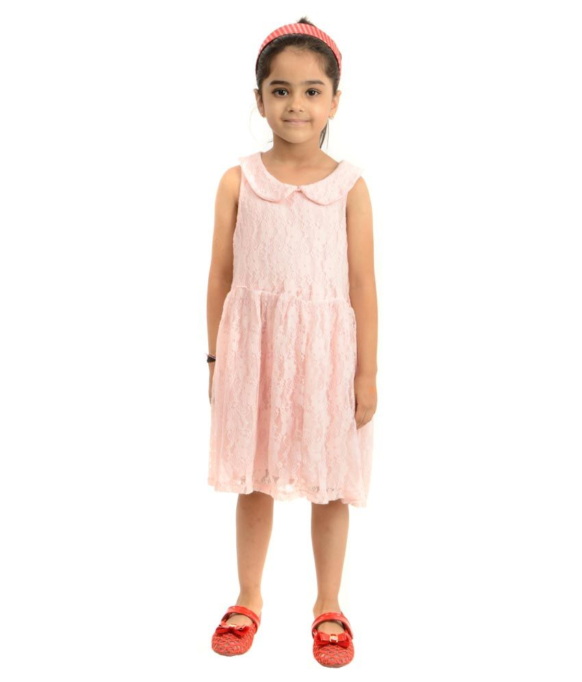 Stylemykidz Pink Cotton Frock For Girls