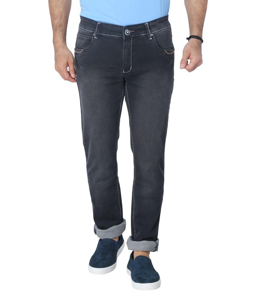 Clydesdale Black Cotton Blend Jeans