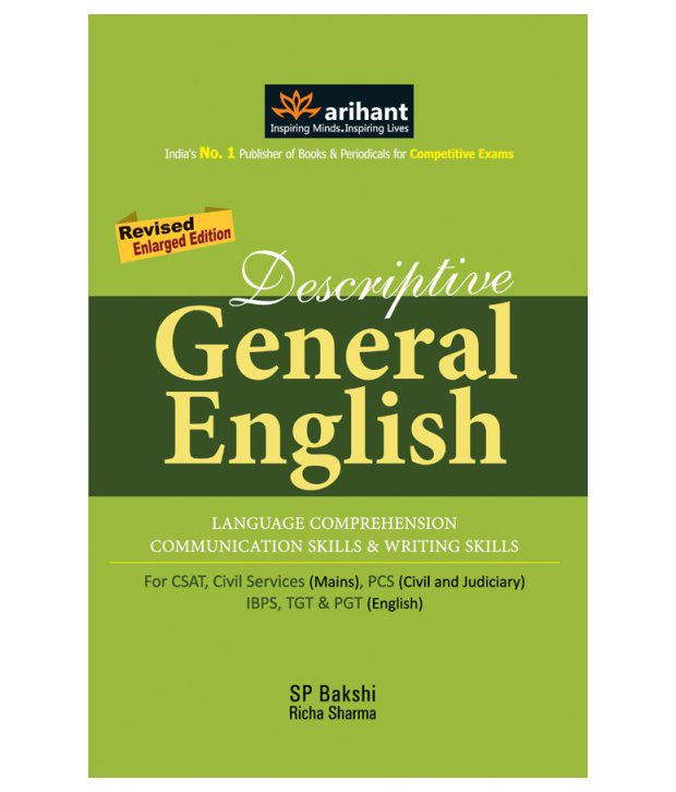 descriptive general english paperback english 1st edition buy rh snapdeal com Arihant Jain Arihant Books