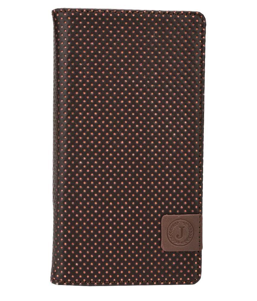 Jo Jo Flip Cover For Huawei Y635 - Brown