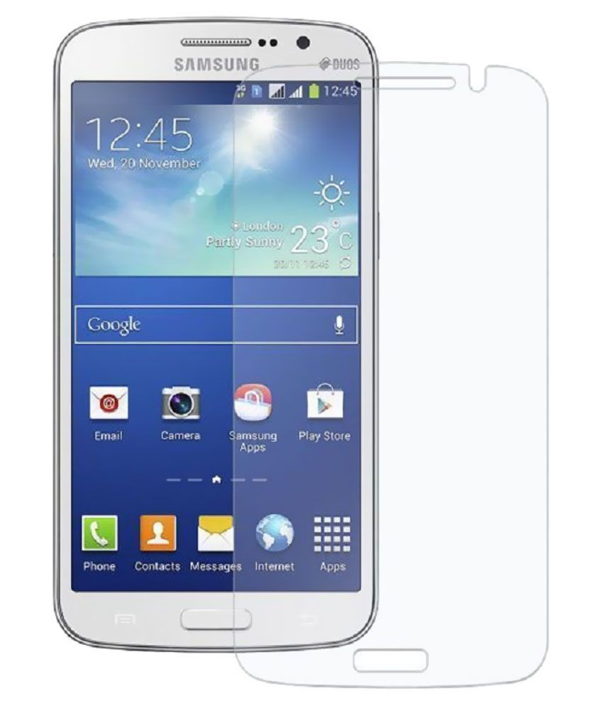 Samsung Galaxy Trend Matte Screen Guard by Uni Mobile Care
