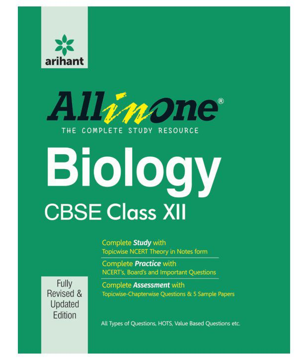 CBSE All in One BIOLOGY Class 12th Paperback (English)