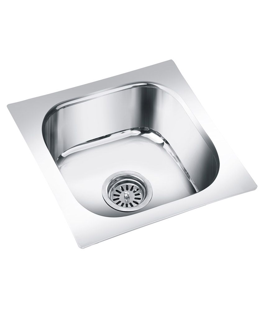 Deepali Stainless Steel Kitchen Sink Single Bowl Online at Low Price ...