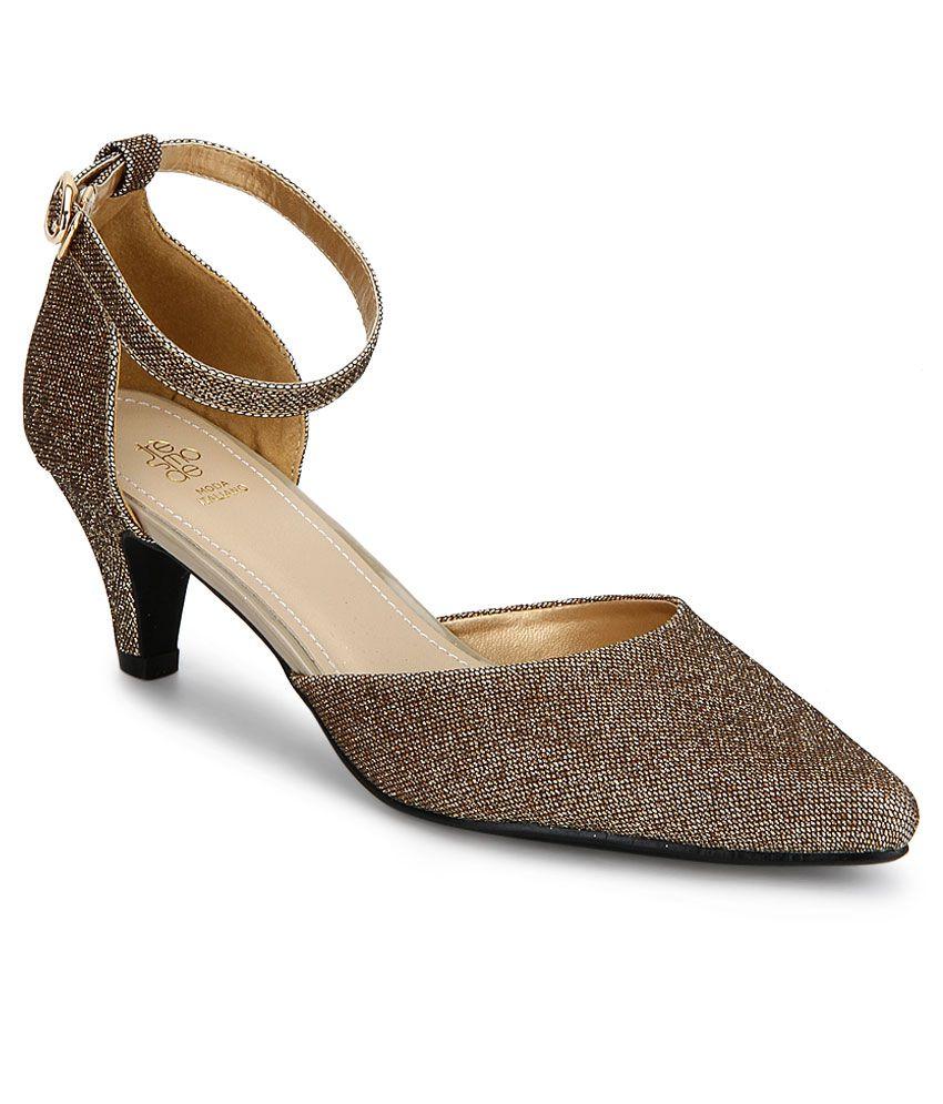 Tresmode 159-Beglit Brown Heel Pumps