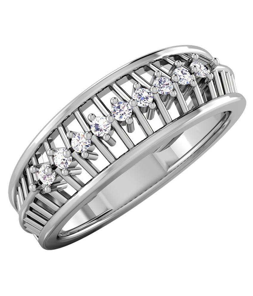 CaratStyle White Gold 18Kt Diamond Ring