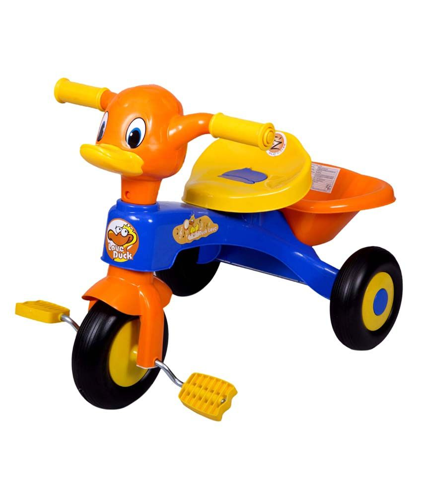Ez Playmates Kids Duck Tricycle Trike Cycles For Baby