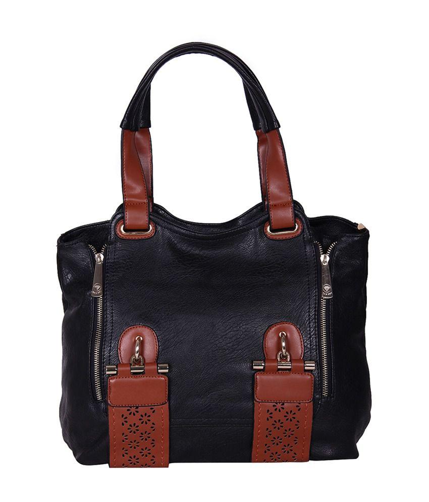 Indiwagon Black Shoulder Bag