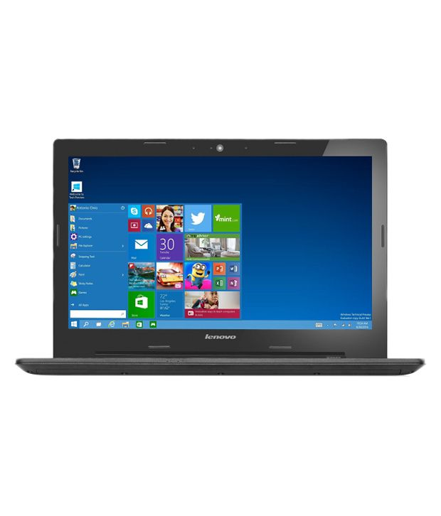 Lenovo G50-80 Notebook (80E502UKIN) (5th Gen Intel Core i5- 4GB RAM- 1TB HDD- 39.62 cm (15.6)- Windows 10- 2GB Graphics) (Black)