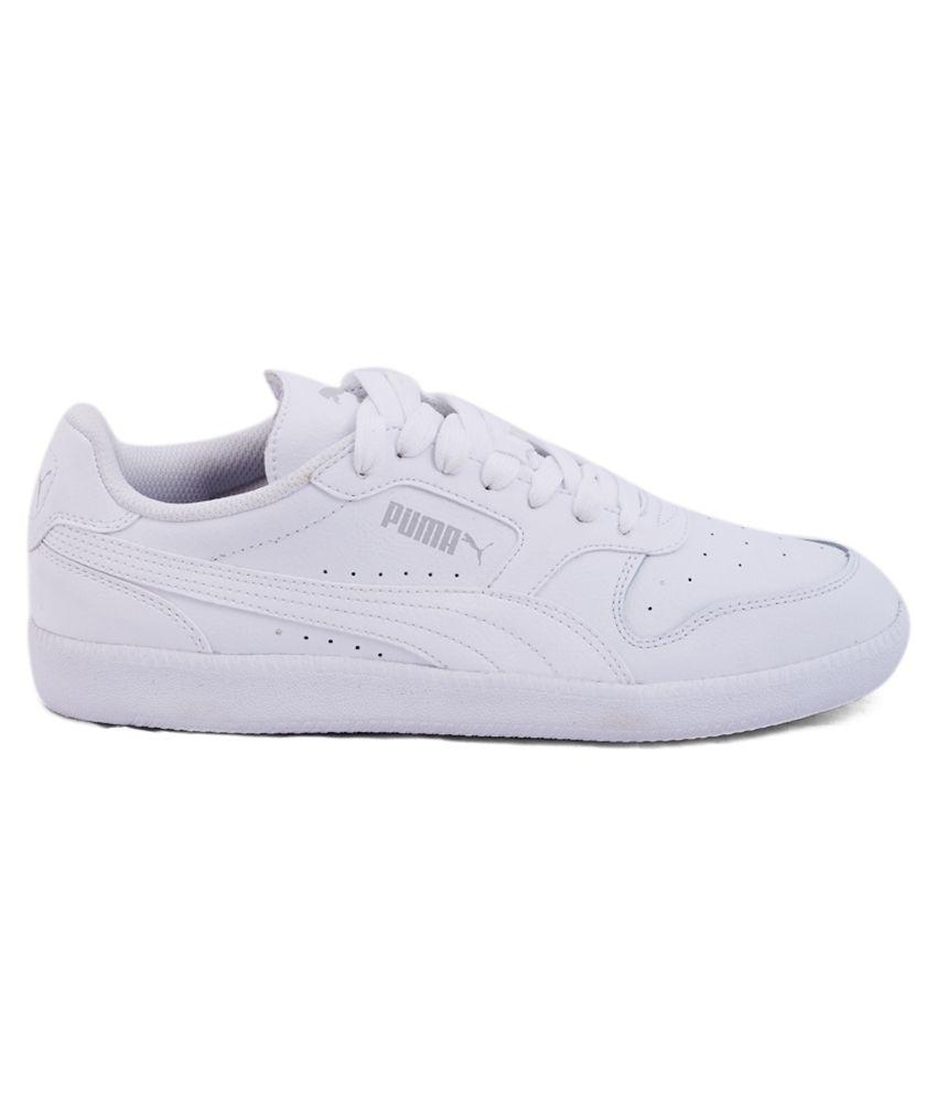 puma white sneaker