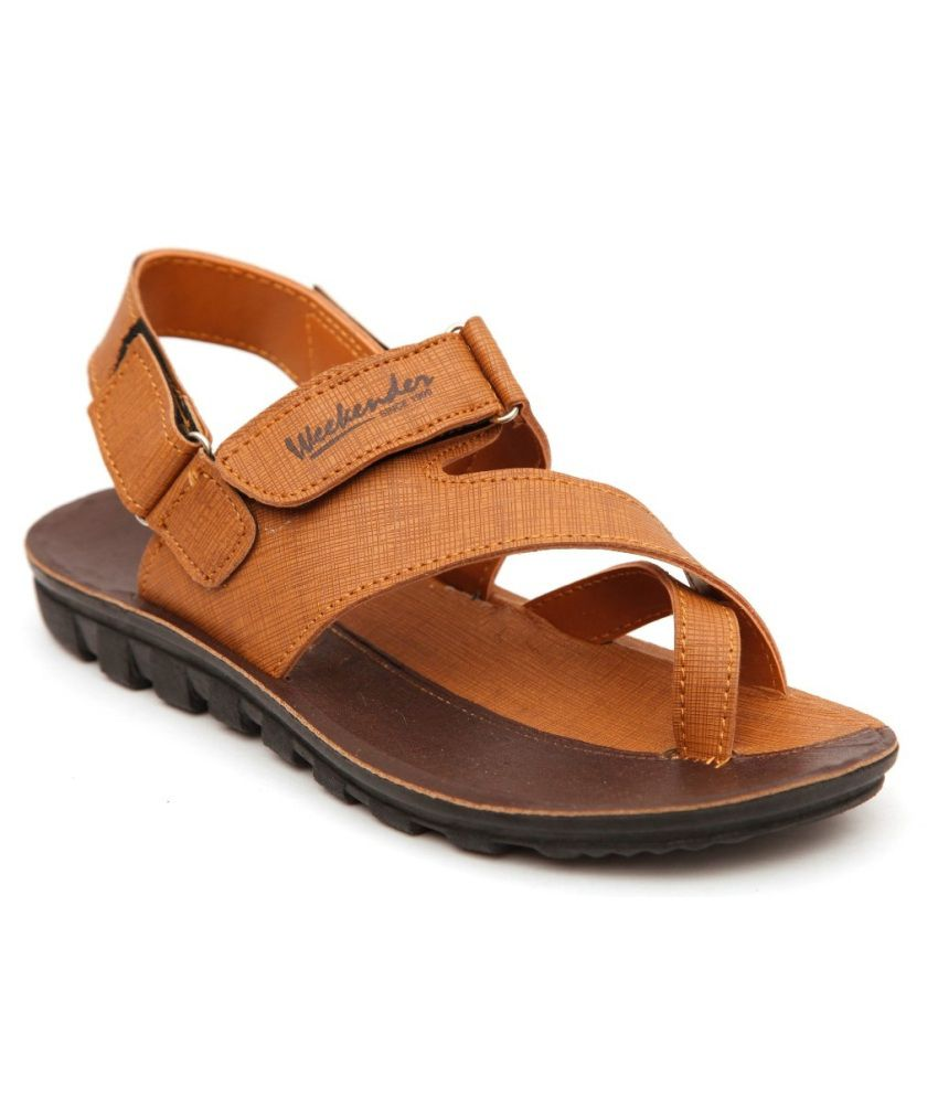 037c4152f4d3 NEXA Brown Floater Sandals - Buy NEXA Brown Floater Sandals Online at Best  Prices in India on Snapdeal
