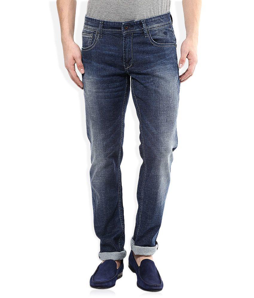 Indian Terrain Blue Slim Fit Jeans