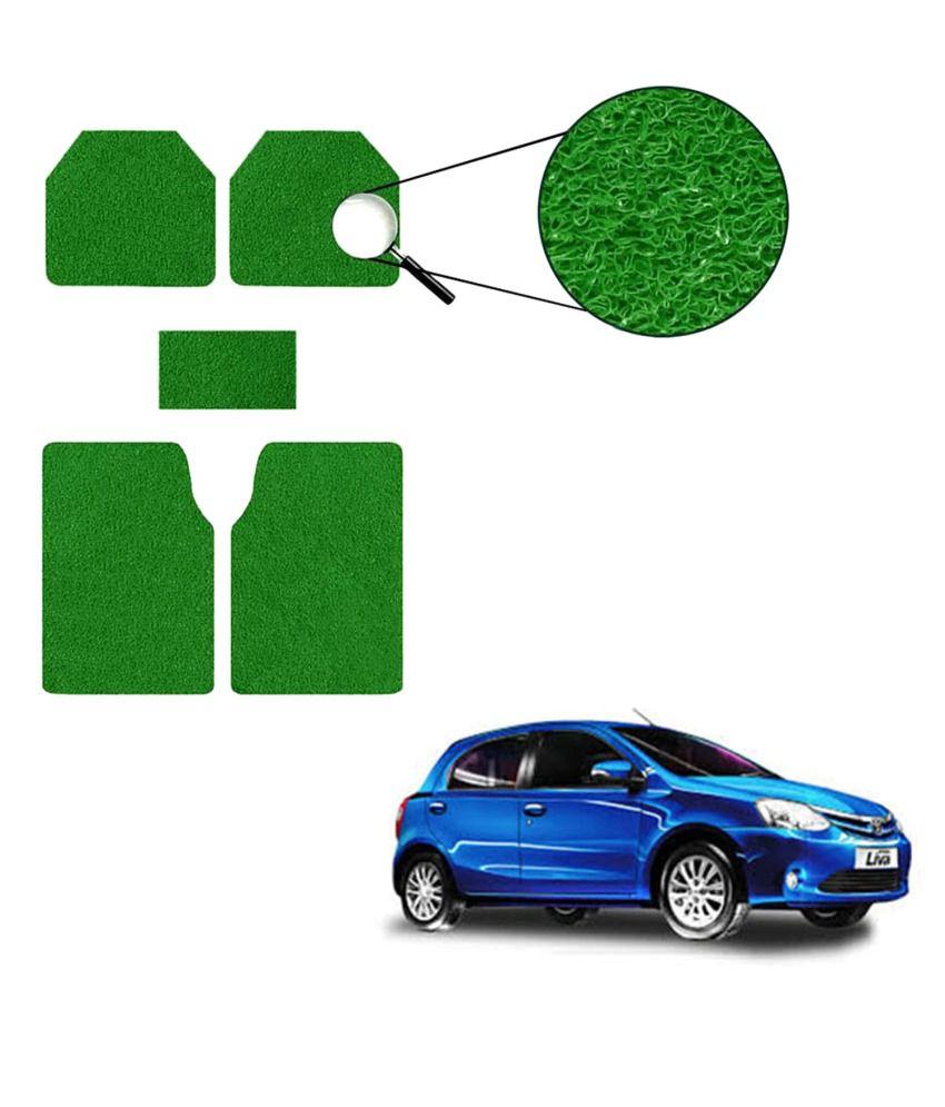 Grey Car Foot Mats For Toyota Etios Liva Buy: Allure Auto Car Mats For Toyota Etios Liva