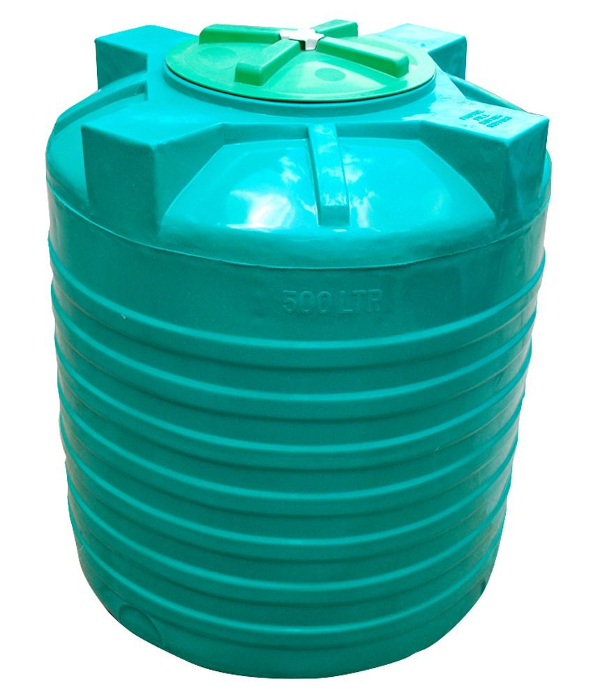 buy supreme green plastic water tank 500 ltr online at low price