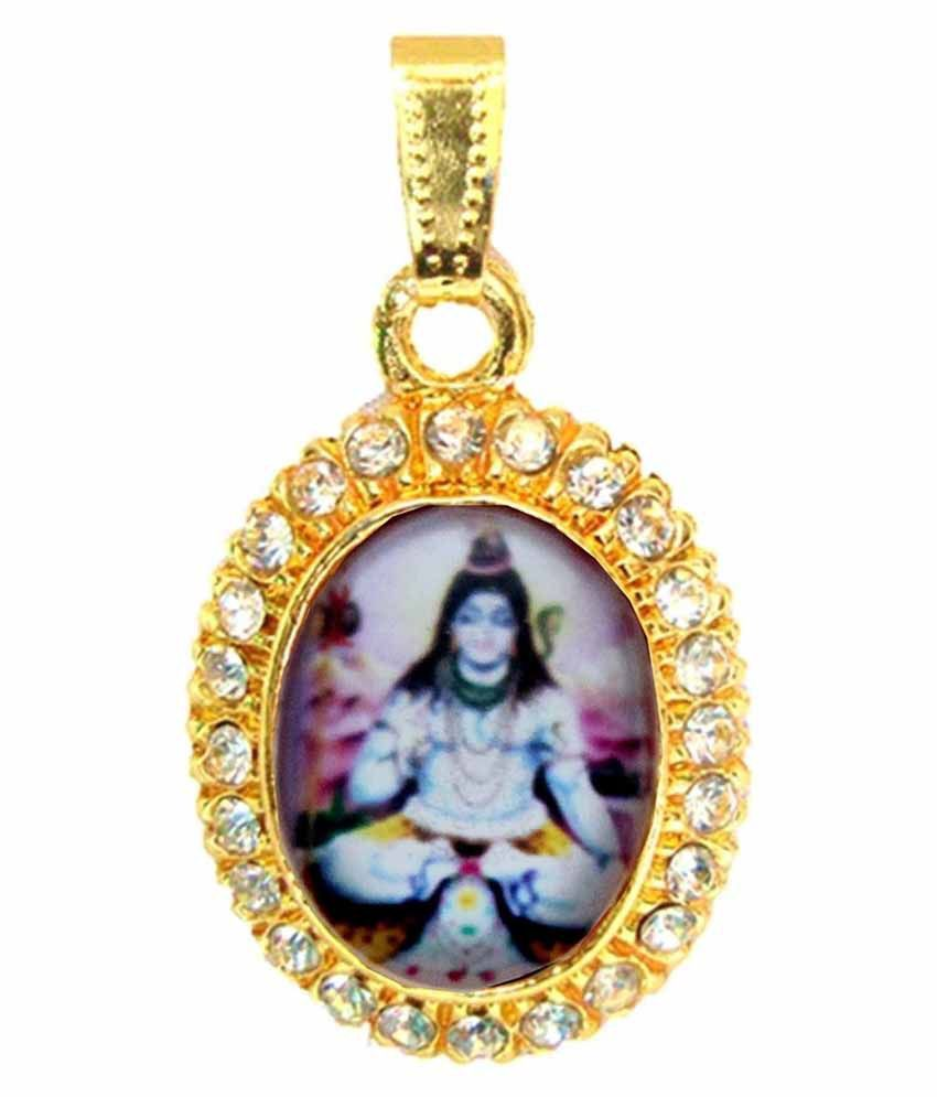 Beingwomen gold plated lord shiva pendant buy beingwomen gold beingwomen gold plated lord shiva pendant mozeypictures Choice Image