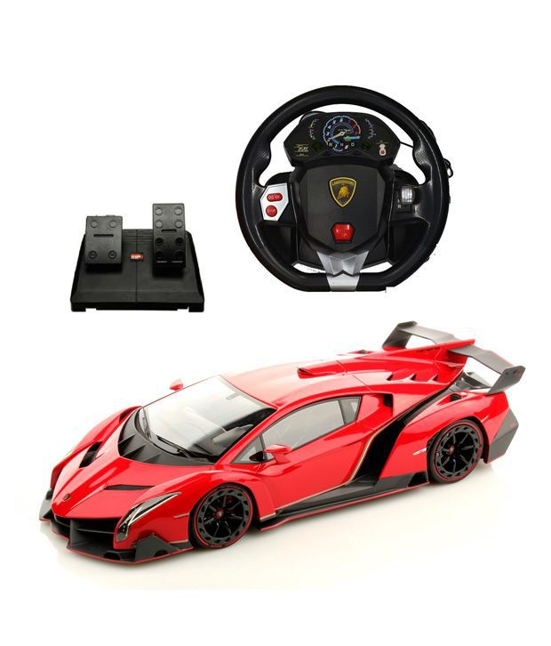 remote control car with steering wheel and pedal. Black Bedroom Furniture Sets. Home Design Ideas