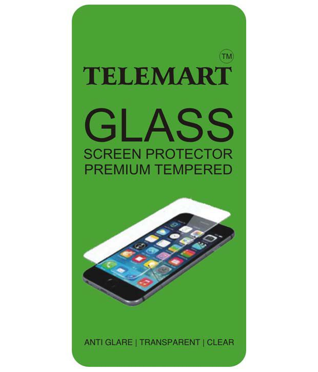 Samsung Galaxy S5 Tempered Glass Screen Guard by Telemart