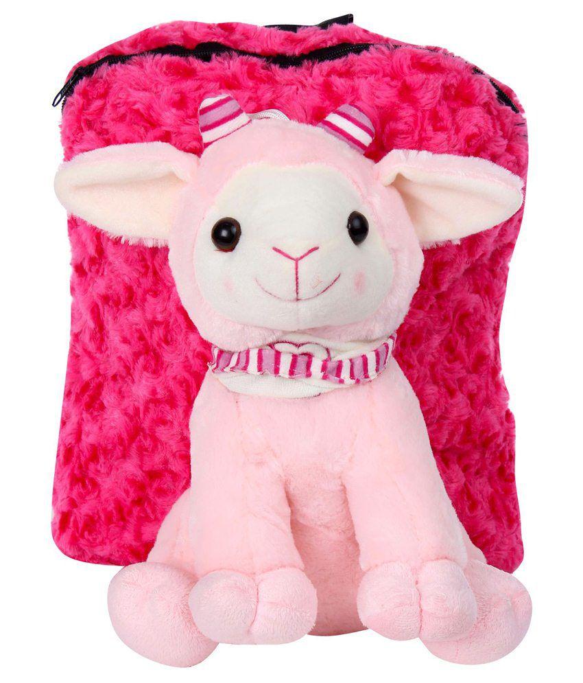 Tickles Cloth Lamb Bag-pink