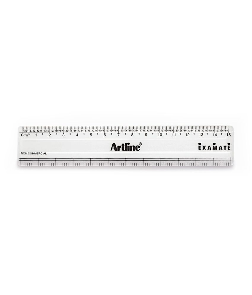 worksheet Cm Measurement artline examate scale 15 cm with mm measurement pack of 10 buy 10