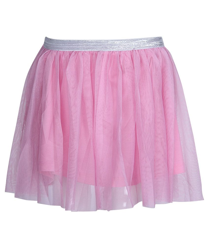 612 League Pink Lace Skirt
