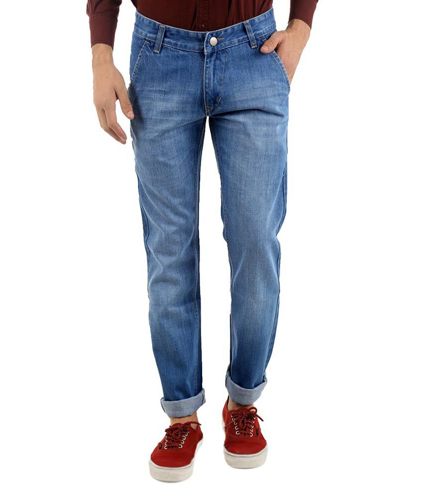 Naughty Walt Blue Regular Fit Jeans