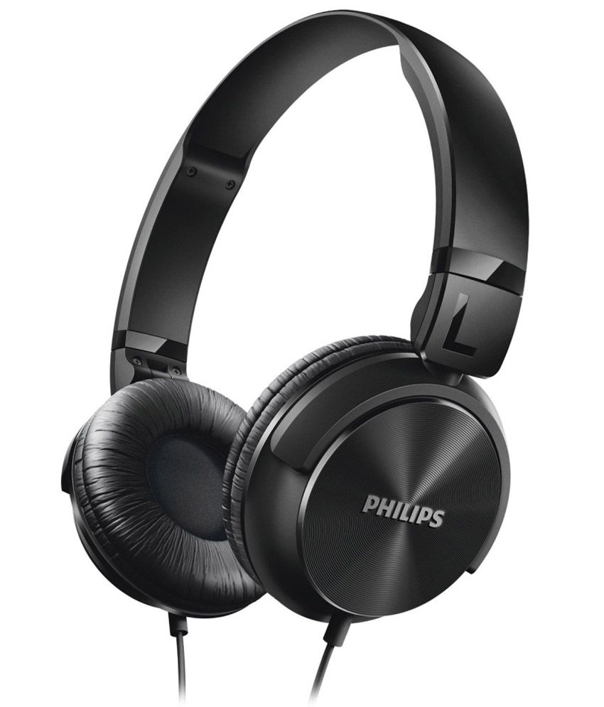 Philips Over Ear Wired Without Mic Headphones/Earphones