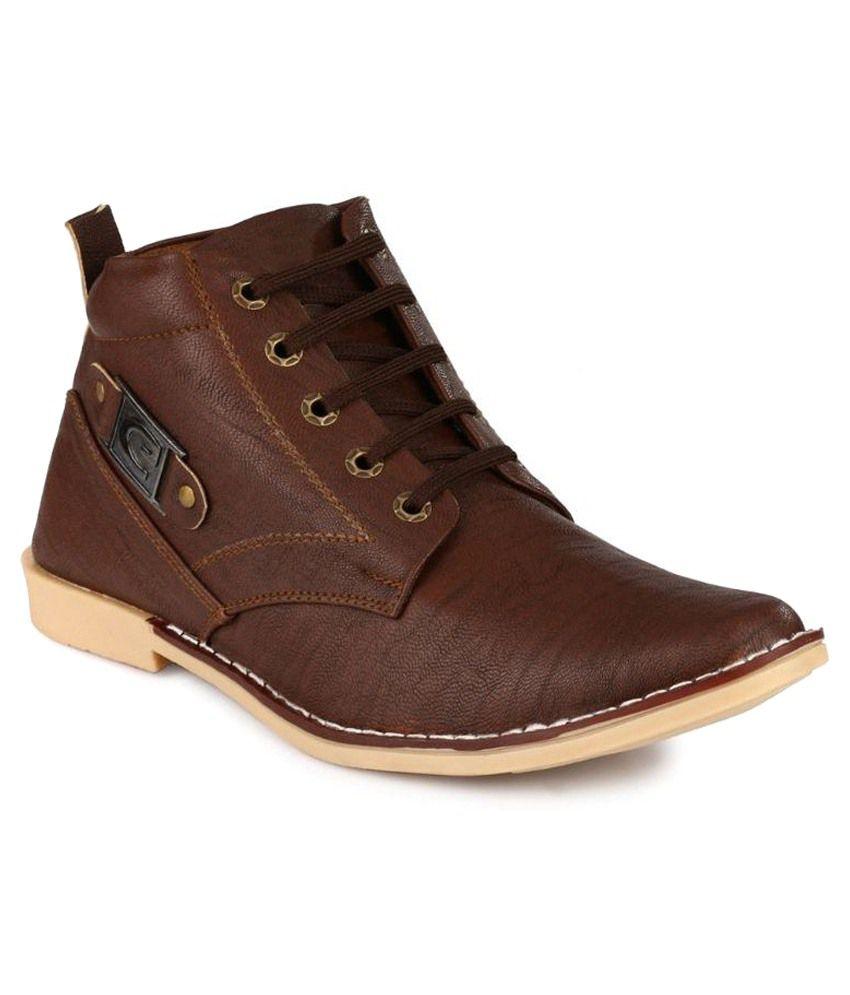 Salvi Brown Boots