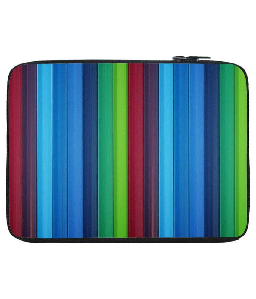 Snoogg Multicolour Polyester Laptop Bag