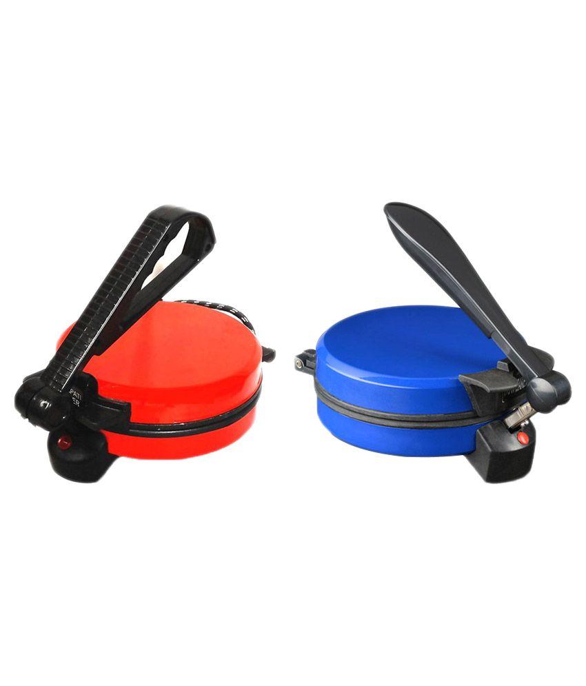 Muxyn Blue Roti Maker + Red Roti Maker Combo