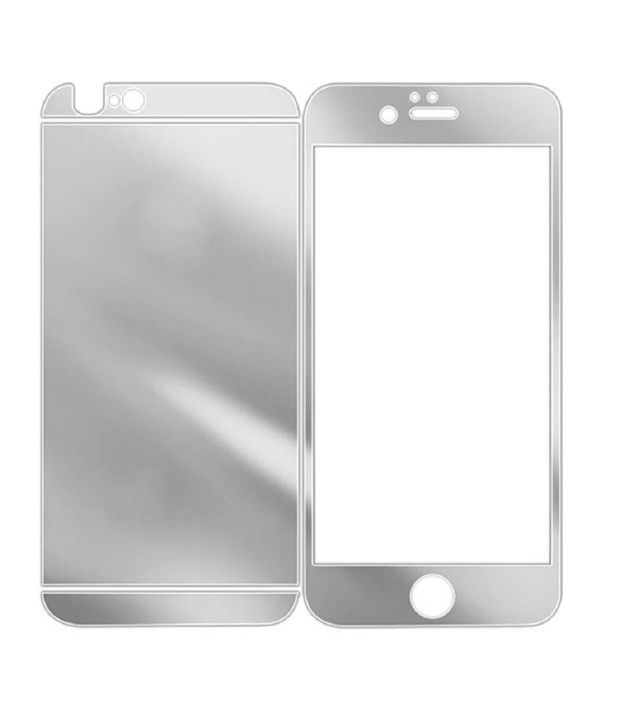 Apple iphone 4S (Front and Back) Tempered Glass Screen Guard by NEUTRON