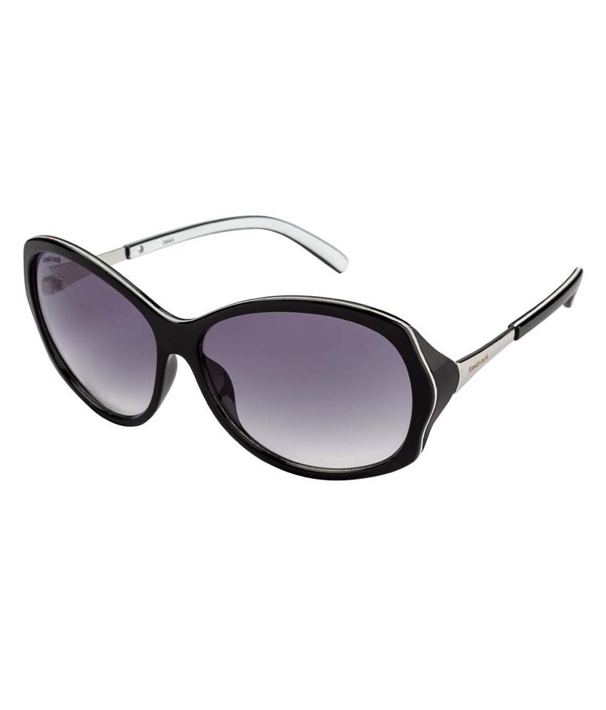303bc13089b Fastrack P249-BK1F Gray Cat Eye Sunglass For Women - Buy Fastrack P249-BK1F  Gray Cat Eye Sunglass For Women Online at Low Price - Snapdeal