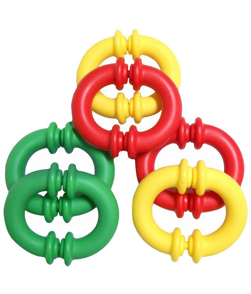 Giggles Multicoloured C Links Assembly Toy