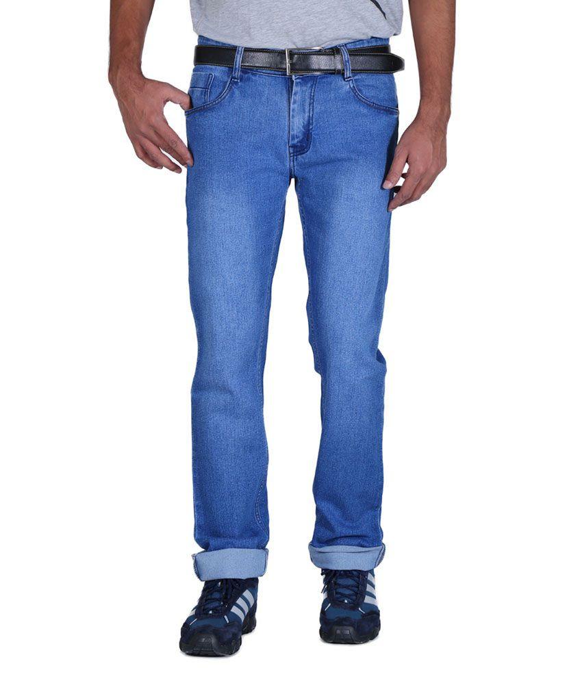 Focker Blue Slim Fit Jeans